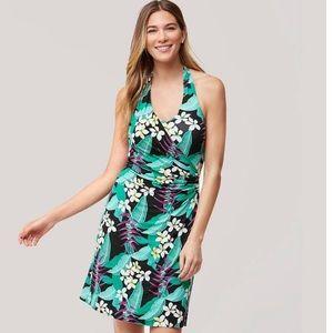Tommy Bahama Ladies Livia Leaves Halter Dress